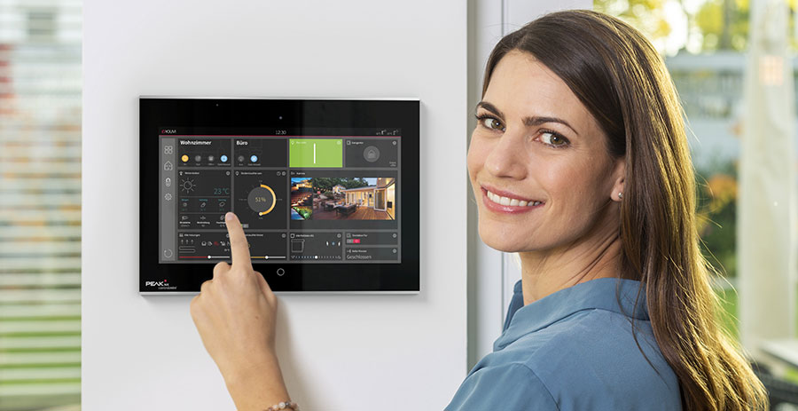 What is the best visualization software for KNX smart homes?