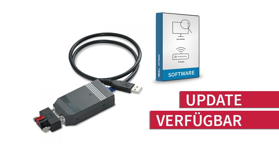 Neues Update für das USB-Connector Softwarepaket verfügbar