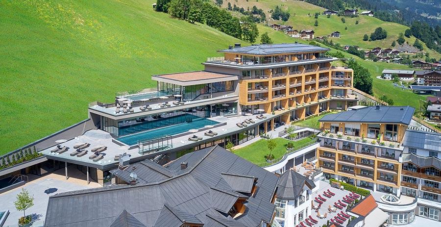 Un hôtel de luxe réalise le contrôle du bâtiment avec PEAKnx