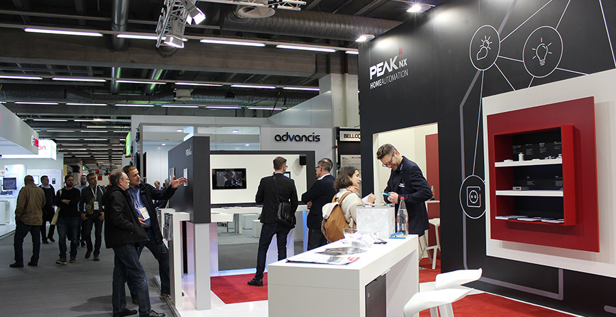 PEAKnx auf der Light + Building 2018