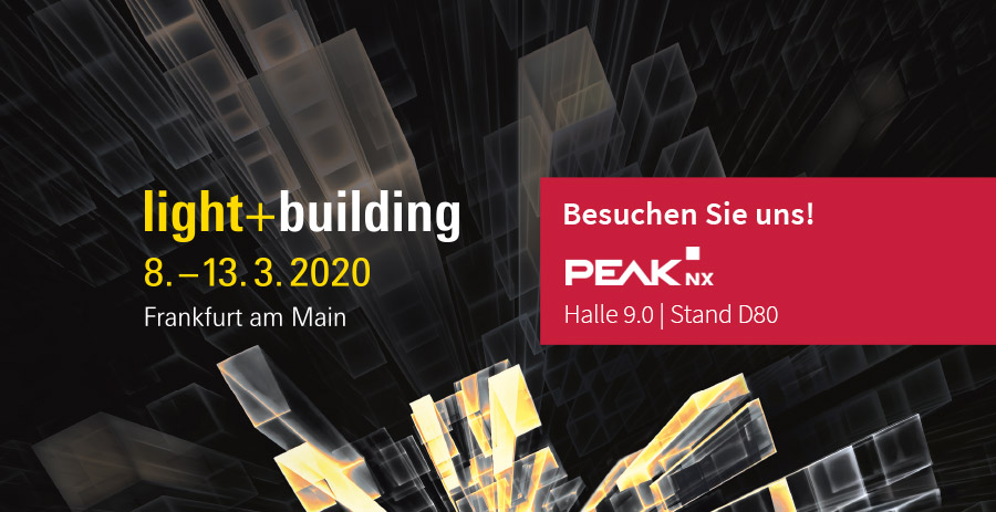 Messehighlights auf der Light + Building 2020