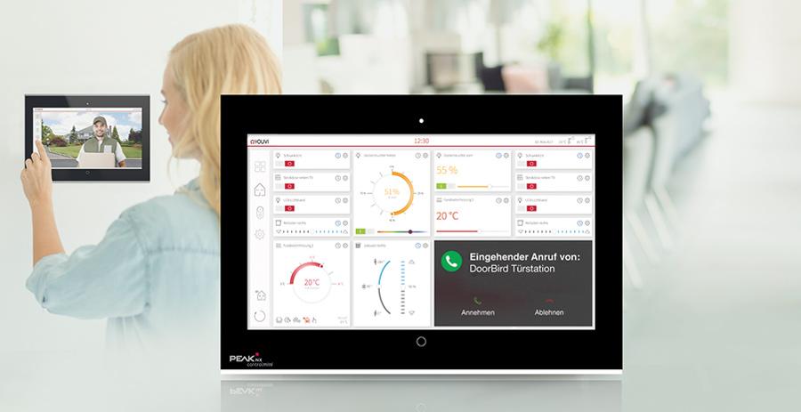 PEAKnx und DoorBird kooperieren: Smarte Steuerung der Haustür