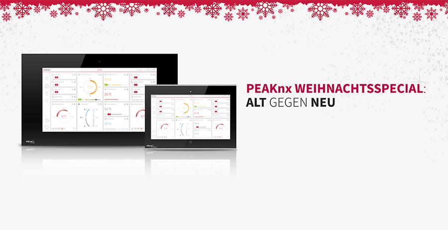 Altes KNX Touch Panel gegen eines von PEAKnx eintauschen und profitieren