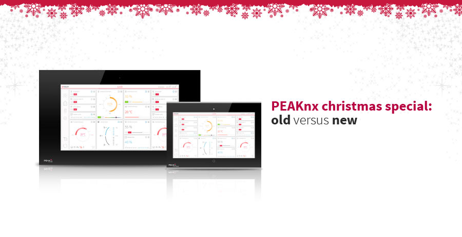 Swap your old KNX touch panel for a panel from PEAKnx and profit