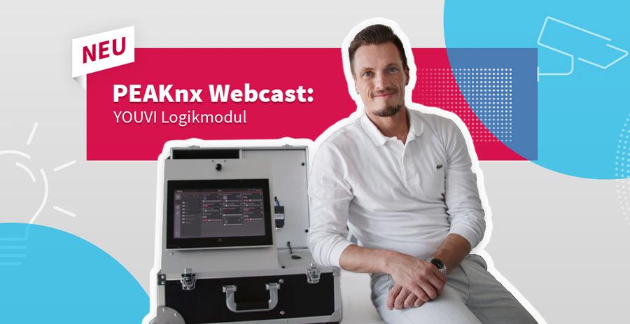 Automatische Smart Home Steuerung mit dem YOUVI Logikmodul im Webcast kennenlernen