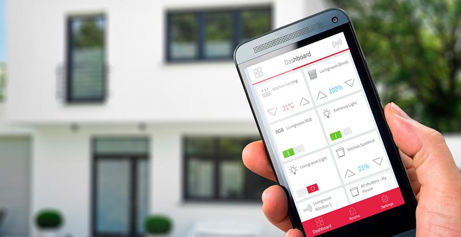 PEAKnx präsentiert YOUVI Smart Home App